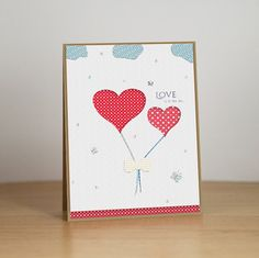 Love is in the air (Saint Valentine card) on Behance