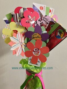 I love this idea especially for someone in the hospital for an gift card bouquet in mason jar there are several gift cards and movie tickets in negle Choice Image