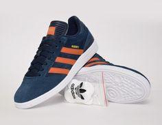 #adidas Busenitz Blue/Orange #sneakers
