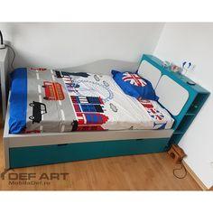 Pat cu sertare Toddler Bed, Furniture, Home Decor, Homemade Home Decor, Home Furnishings, Decoration Home, Arredamento, Interior Decorating