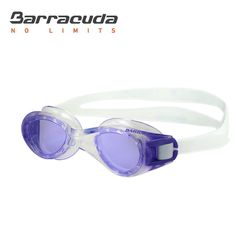 Barracuda Junior Swim Goggle TITANIUM JR - Anti-Fog UV Protection, Easy Adjustment, One-piece Frame Soft Seals Silicone Strap, Comfortable No leaking for Kids Children ages 6-12 (#30920)