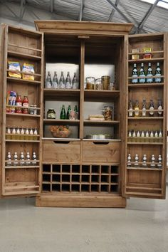 updating a pine wardrobe | pantry cupboard, kitchen pantries and