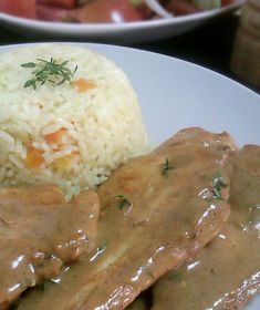 Chicken Fillet with Mustard Sauce & Thyme Greek Cooking, Easy Cooking, Cooking Recipes, Healthy Recipes, Healthy Nutrition, Healthy Eating, Greek Recipes, How To Cook Chicken, Diy Food