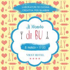 Per festeggiare l'8 marzo raggiungici in cucina. www.ilmondodibu.it