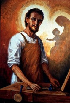 The life of St. Joseph the Worker in art