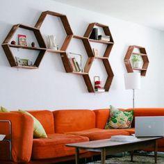 honeybee shelves.