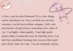 Image result for pokemon personalities