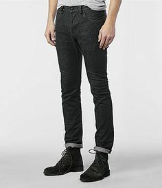 Mens Yin Cigarette Jeans (Grey) | ALLSAINTS.com
