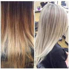 """Took this golden goddess to her dream """"buttery blonde"""" in one appointment. @olaplex @redken5thave #blondeicing"""