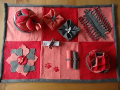 Snuffel/puzzelkleed 6-vaks met Amish-bal