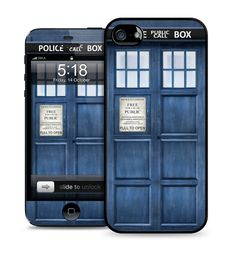Apple iPhone 5C TPU Rubber Case Cover & Skin Kit - Police Box. Protection Kit Include: Case, Skin/Decal & Matching Digital Wallpaper. Hard back case with TPU rubber sides, Skin kit combo pack also included. Compatible with iPhone 5C ONLY. Easy access to all buttons and ports. High quality graphics that won't fade, smudge or rub off.