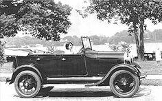1929 Ford Model A 4 Door Phaeton