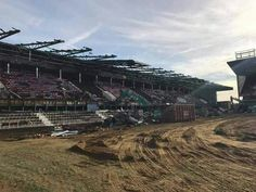 The East Stand in it's final days