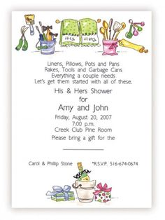 Couples wedding shower invitation wording party of the year couples wedding shower gifts and good wishes cute words filmwisefo Images