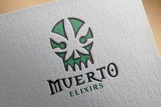 Muerto Elixirs Logo, By Grigoriou