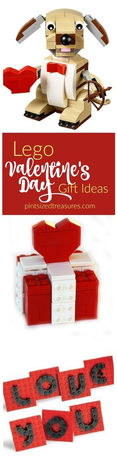 Lego gift ideas for Valentine's Day that your kids will LOVE! Perfect non-candy gift idea! @alicanwrite