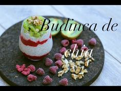 Budinca Chia   Gustos si Sanatos   Desert de Vara - YouTube Chia, Pudding, Desserts, Youtube, Food, Tailgate Desserts, Deserts, Custard Pudding, Essen