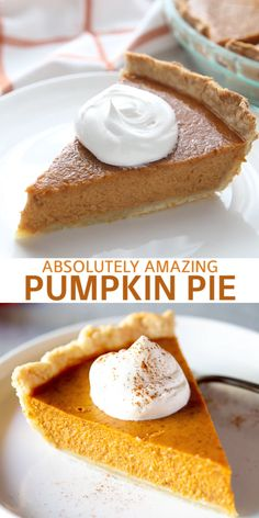 This classic Pumpkin Pie recipe is perfect in every way, and you can choose to serve it with a simple homemade caramel pecan topping that takes it over the top! Classic Pumpkin Pie Recipe, Easy Pumpkin Pie, Pumpkin Pie Recipes, Pumpkin Dessert, Pumpkin Pie Recipe Without Nutmeg, One Pie Pumpkin Pie Recipe, Organic Pumpkin Pie Recipe, Pumpkin Pie Recipe With Evaporated Milk, Original Pumpkin Pie Recipe