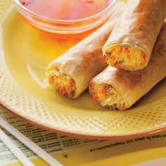 Find out Exactly how to prepare Chinese Food Appetiser Appetizer Dishes, Italian Appetizers, Appetizer Recipes, Ricardo Recipe, Chicken Spring Rolls, Confort Food, Egg Roll Recipes, Asian Recipes, Ethnic Recipes