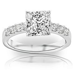 1 Carat Princess Cut