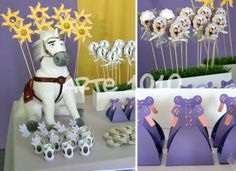Arte 1010: Festa Rapunzel - Enrolados