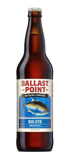 Ballast Point Big Eye IPA bottle - Google Search