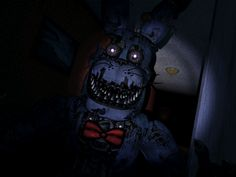 Nightmare Bonnie animatronic from Five Nights at Freddy's 4. #FNAF4