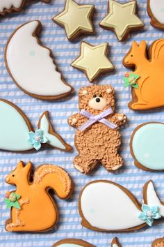 Baby Shower Cookie Favors | Sweetopia