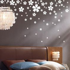 Free Shipping Heart Petal Flower Kid Living Room Bedroom Decor Mural Art Vinyl Wall Stickers Home Window Decoration Decal W065-in Wall Stickers from Home & Garden on Aliexpress.com $3.38
