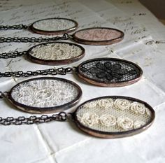Lace Jewelry Necklaces