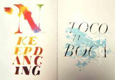 Pedro Inoue - texture and type