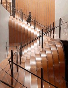 Ribbon Stairway #stairs #interior #architecture