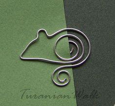 Little mouse - bookmark. $6.50, via Etsy.