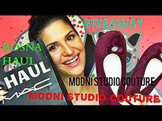 MODNI_STUDIO_COUTURE   MAC, BOSNA HAUL + GIVEAWAY   SUNCICA - YouTube