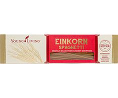 Gary's True Grit Einkorn Spaghetti is a delicious, natural alternative to conventional pastas that the whole family is guaranteed to love. The oldest known variety of grain, einkorn is an unhybridized and nutritional powerhouse that is exceptionally easy to digest. How to use: cook according to package directions; top with pasta sauce of your choice. http://essentialoilsinsider.com   https://www.youngliving.com/  http://groundwirehosting.com/