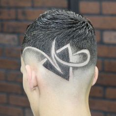 35 Awesome Design Haircuts For Men - Men's Hairstyles Haircuts For Men, Boys Haircuts With Designs, Hair Designs For Boys, Undercut Hairstyles Women, Asian Men Hairstyle, Asian Hair, Hairstyles Haircuts, Design Haircuts, Clean Cut Haircut