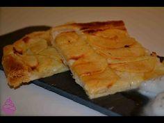 Tarta de manzana crujiente. Repostería