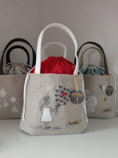 Lunch Bag - vzpomínky z dětství / Zboží prodejce MarkétaX Burlap, Reusable Tote Bags, Lunch, Hessian Fabric, Eat Lunch, Jute, Canvas
