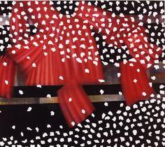 Szirtes János: A minta metamorfózisa / The Metamorphosis of a Pattern, 2003, 146 x 130 cm, akril, vászon / acrylic on canvas
