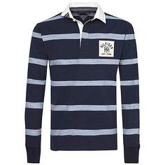 f545c847 Buy Tommy Hilfiger Dee Stripe Rugby Shirt, Navy Blazer Online at  johnlewis.com Blazer