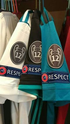 RESPECT to Real Madrid from UEFA as the 12th times champions of Europe in history of football.  #HalaMadridyNadaMas