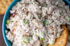 Authentic Greek Moussaka | ArmGusto Salad Recipes Video, Tuna Recipes, Avocado Recipes, Healthy Salad Recipes, Healthy Lunches, Healthy Food, Mango Avocado Salad, Tuna Avocado, Best Tuna Salad Recipe