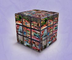 Tbilisi in Kubik Rubik, digital art by Levan Tchkonia - Ego - AlterEgo Invite Your Friends, Decorative Boxes, Digital Art, Graphic Design, Travel, Voyage, Viajes, Traveling, Trips