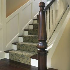Traditional Staircase Design Ideas, Pictures, Remodel and Decor