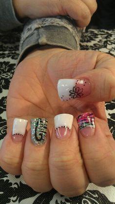 Shidale nails, flare nails