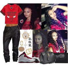 Chicago Bulls., created by dopegenhope on Polyvore