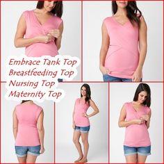 Ripe Maternity Embrace Breastfeeding Nursing Tank Top All Sizes NEW FREE SHIP