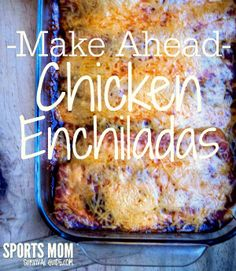 I love this meal for a make-ahead dinner.  You can make and bake or make and freeze to pull out later. You can also microwave individual portions.