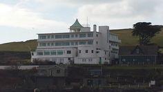 Burgh Island hotel.