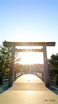Japanese Shrine, Torii Gate, Go To Japan, Japanese Landscape, Nice View, Vintage Photos, Cool Photos, Pergola, Beautiful Places